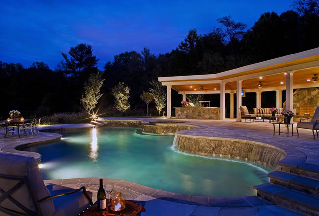 Custom Pool Builder Chantilly Virginia
